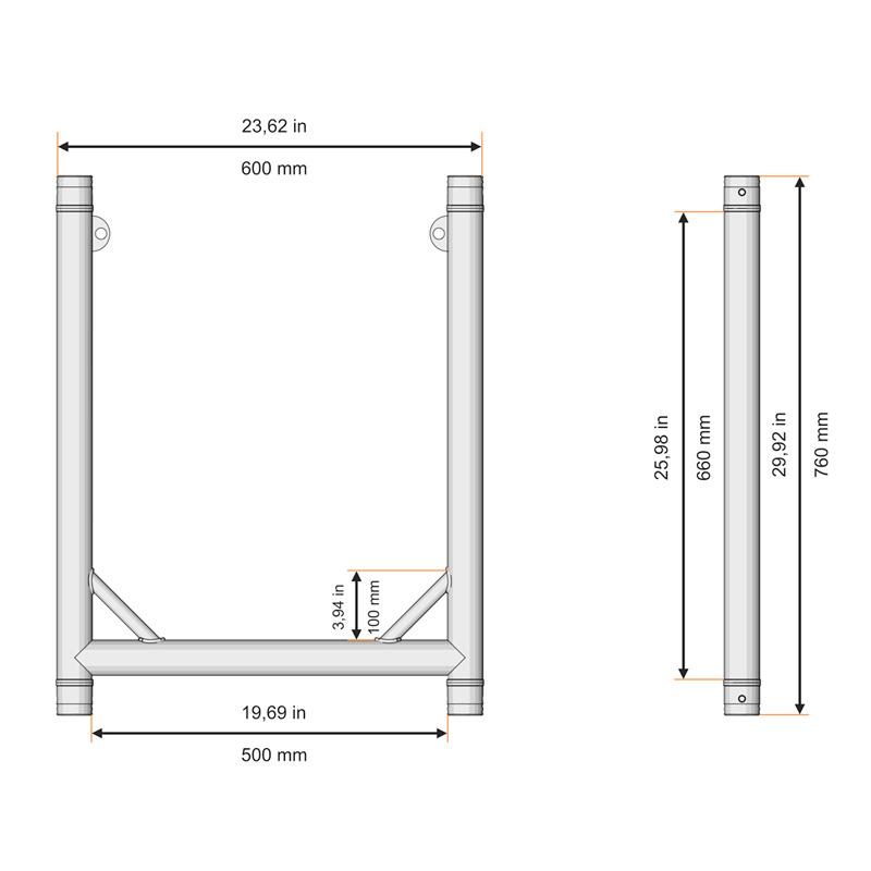Modular U frames